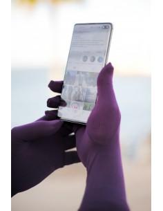 Touchscreen-Handschuhe Umm Hafsa - Pflaume