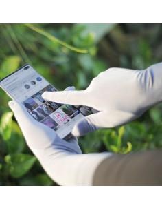 Touchscreen-Handschuhe Umm Hafsa - Grau