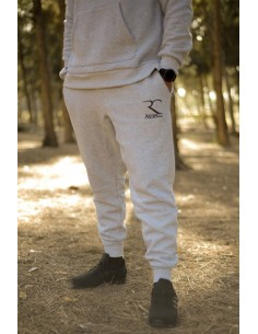 Sarouel jogging 100% cotton Rayane - Grey