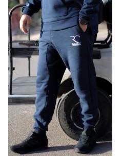 Sarouel jogging 100% coton Rayane - Bleu
