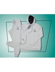 Rayane Trainingsanzug aus 100% Baumwolle - Grau