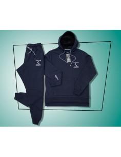 Rayane Trainingsanzug aus 100% Baumwolle - Blau