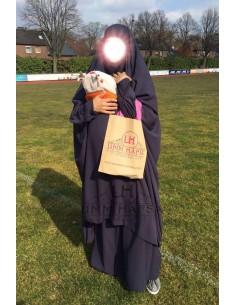 "Maternity/porterage Jilbab ""Skirt"" Umm Hafsa - Blue"