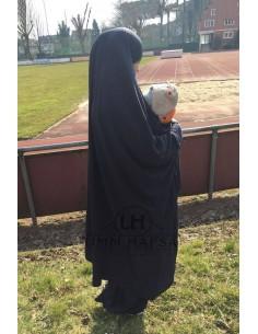 "Maternity/porterage Jilbab ""Skirt"" Umm Hafsa - Black"
