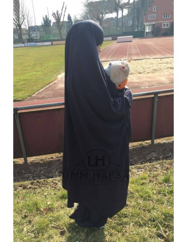 Jilbeb de maternage Umm Hafsa - Noir