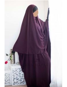Abaya/Hijab Maryam Umm Hafsa – Purple