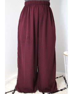 Pants Hafsa from Umm Hafsa – Purple