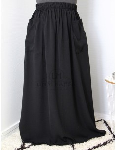 Jupe à poches Umm Hafsa - Noire