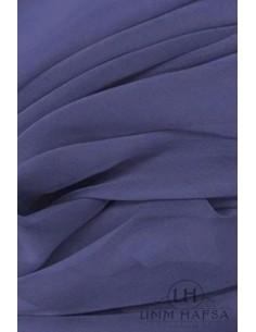 NIQAB DEUX VOILES 95CM UMM HAFSA - Bleu