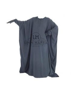 Abaya papillon Umm Hafsa - Gris